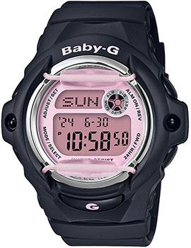 Японские наручные  женские часы Casio BG-169M-1ER. Коллекция Baby-G
