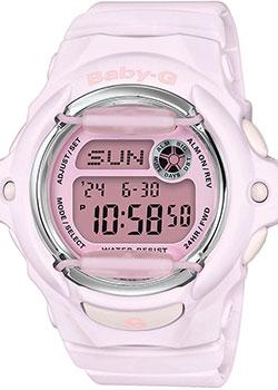 Японские наручные  женские часы Casio BG-169M-4ER. Коллекция Baby-G