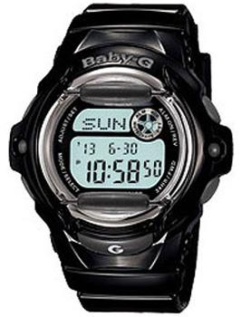 Японские наручные  женские часы Casio BG-169R-1E. Коллекция Baby-G