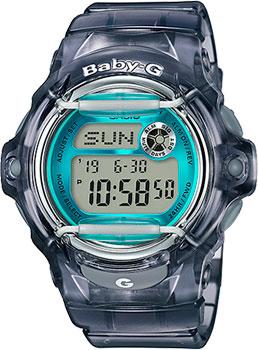 Японские наручные женские часы Casio BG-169R-8B. Коллекция Baby-G  - купить со скидкой