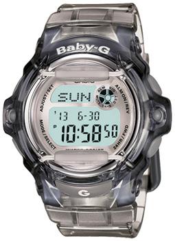 Японские наручные  женские часы Casio BG-169R-8E. Коллекция Baby-G