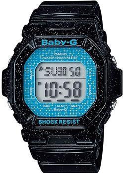 Японские наручные  женские часы Casio BG-5600GL-1E. Коллекция Baby-G