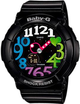Японские наручные  женские часы Casio BGA-131-1B2. Коллекция Baby-G