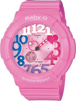 Японские наручные  женские часы Casio BGA-131-4B3. Коллекция Baby-G