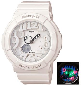 Японские наручные  женские часы Casio BGA-131-7B. Коллекция Baby-G