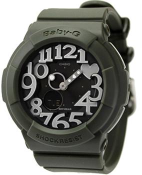 Японские наручные  женские часы Casio BGA-134-3B. Коллекция Baby-G