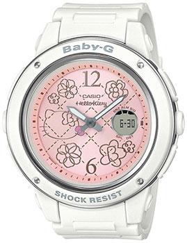 Японские наручные  женские часы Casio BGA-150KT-7BER. Коллекция Baby-G