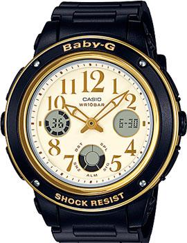 Японские наручные  женские часы Casio BGA-151EF-1B. Коллекция Baby-G