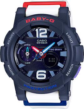 Японские наручные  женские часы Casio BGA-180-2B2. Коллекция Baby-G