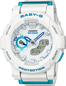 Японские наручные  женские часы Casio BGA-185FS-7A. Коллекция Baby-G