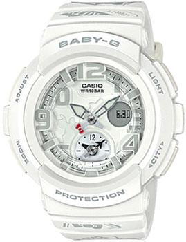 Японские наручные  женские часы Casio BGA-190KT-7B. Коллекция Baby-G