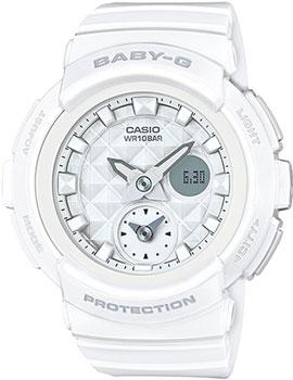 Японские наручные  женские часы Casio BGA-195-7A. Коллекция Baby-G