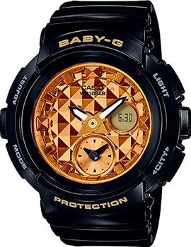 Японские наручные  женские часы Casio BGA-195M-1A. Коллекция Baby-G