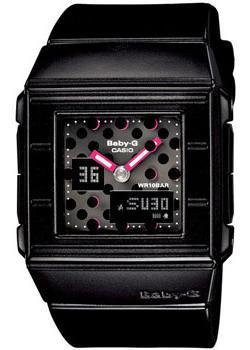 Японские наручные  женские часы Casio BGA-200DT-1E. Коллекция Baby-G