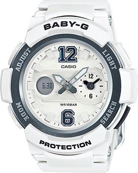 Японские наручные  женские часы Casio BGA-210-7B1. Коллекция Baby-G