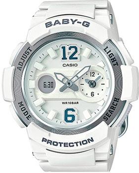 Японские наручные  женские часы Casio BGA-210-7B4. Коллекция Baby-G