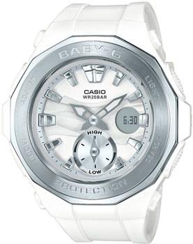 Японские наручные  женские часы Casio BGA-220-7A. Коллекция Baby-G