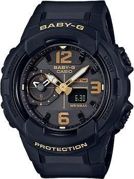 Японские наручные  женские часы Casio BGA-230-1B. Коллекция Baby-G