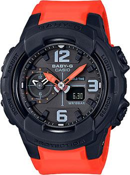 Японские наручные  женские часы Casio BGA-230-4B. Коллекция Baby-G