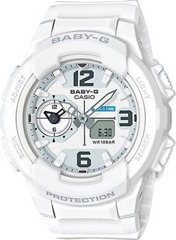 Японские наручные  женские часы Casio BGA-230-7B. Коллекция Baby-G