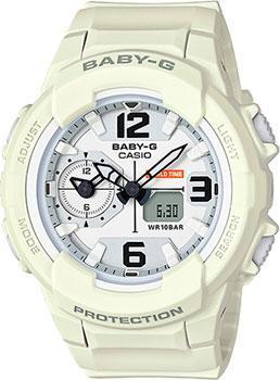 Японские наручные  женские часы Casio BGA-230-7B2. Коллекция Baby-G