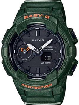 Японские наручные  женские часы Casio BGA-230S-3A. Коллекция Baby-G