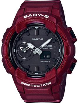 Японские наручные  женские часы Casio BGA-230S-4A. Коллекция Baby-G