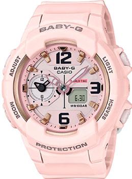 Японские наручные  женские часы Casio BGA-230SC-4B. Коллекция Baby-G