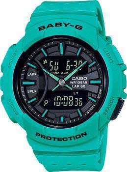 Японские наручные  женские часы Casio BGA-240-3A. Коллекция Baby-G