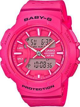 Японские наручные  женские часы Casio BGA-240-4A. Коллекция Baby-G