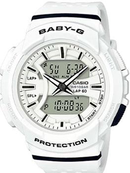 Японские наручные  женские часы Casio BGA-240-7A. Коллекция Baby-G