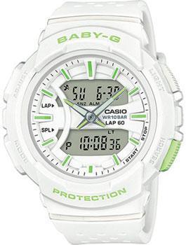 Японские наручные  женские часы Casio BGA-240-7A2. Коллекция Baby-G