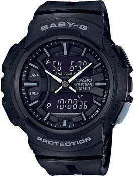 Японские наручные  женские часы Casio BGA-240BC-1A. Коллекция Baby-G