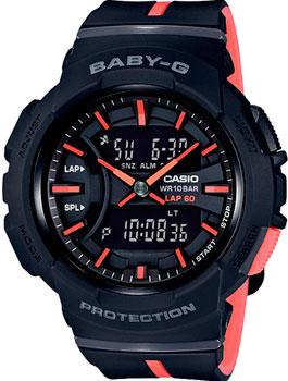 Японские наручные  женские часы Casio BGA-240L-1A. Коллекция Baby-G