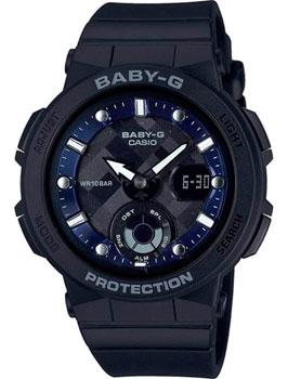 Японские наручные  женские часы Casio BGA-250-1A. Коллекция Baby-G