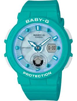 Японские наручные  женские часы Casio BGA-250-2A. Коллекция Baby-G