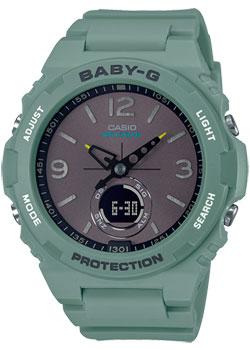 Японские наручные  женские часы Casio BGA-260-3AER. Коллекция Baby-G