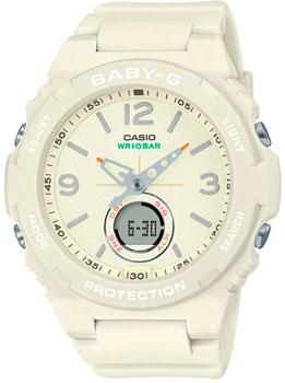 Японские наручные  женские часы Casio BGA-260-7AER. Коллекция Baby-G