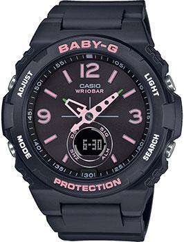 Японские наручные  женские часы Casio BGA-260SC-1AER. Коллекция Baby-G