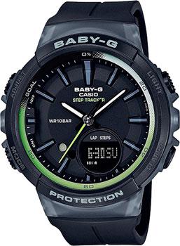 Японские наручные  женские часы Casio BGS-100-1A. Коллекция Baby-G