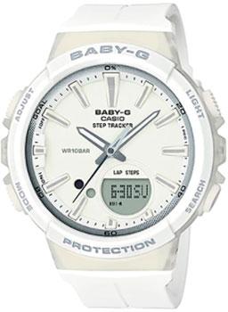 Японские наручные  женские часы Casio BGS-100-7A1. Коллекция Baby-G