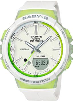 Японские наручные  женские часы Casio BGS-100-7A2. Коллекция Baby-G