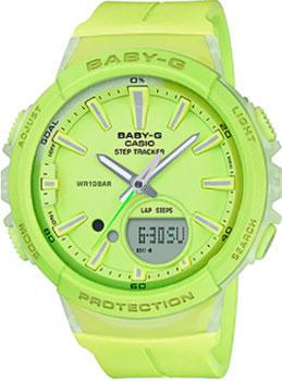 Японские наручные  женские часы Casio BGS-100-9A. Коллекция Baby-G