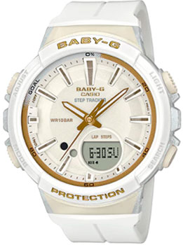 Японские наручные женские часы Casio BGS-100GS-7A. Коллекция Baby-G фото