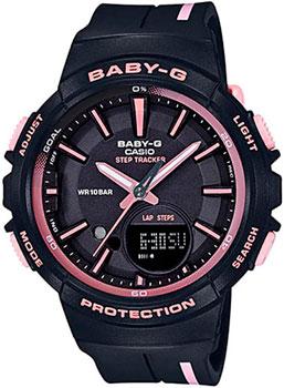 Японские наручные  женские часы Casio BGS-100RT-1A. Коллекция Baby-G