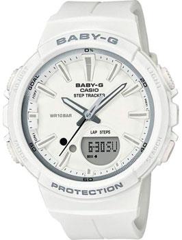 Японские наручные  женские часы Casio BGS-100SC-7A. Коллекция Baby-G