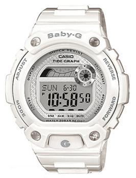 Японские наручные  женские часы Casio BLX-100-7E. Коллекция Baby-G