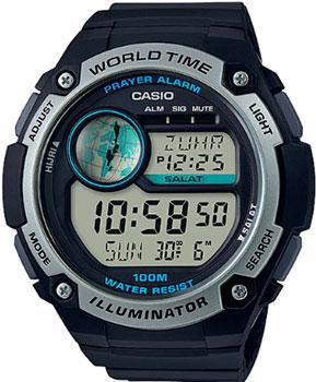 Японские наручные  мужские часы Casio CPA-100-1A. Коллекция Digital