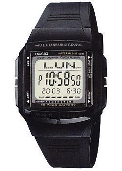Японские наручные  мужские часы Casio DB-36-1. Коллекция Digital