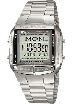 Японские наручные  мужские часы Casio DB-360N-1. Коллекция Data Bank